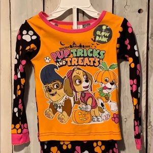 Paw Patrol Pjs Pajamas Set Halloween 🎃 NWOTS